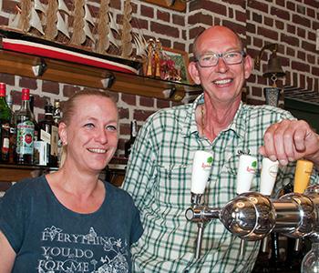 John (de Lange) en Renée