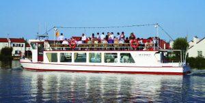 Rondvaartboot de Voorstad - Rederij de Corporaal
