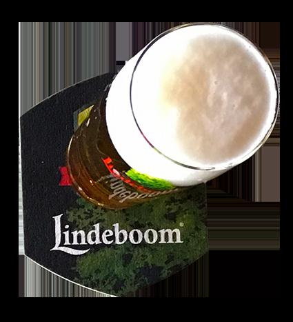 Een lekker glas Lindeboom Bier
